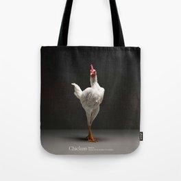 Chic!ken - Modern English Game Fowl Tote Bag