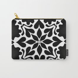Snowflake - Hearts Carry-All Pouch