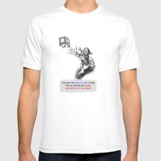 You found the Magical Box! Mens Fitted Tee White MEDIUM