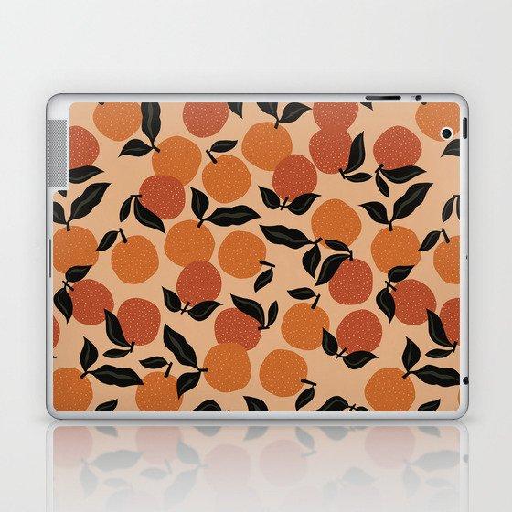 Seamless Citrus Pattern / Oranges Laptop & iPad Skin