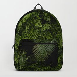 Tropical jungle. Backpack