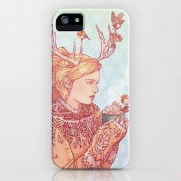 December Lady iPhone Case