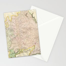 Vintage Map of Bavaria Germany (1814) Stationery Cards