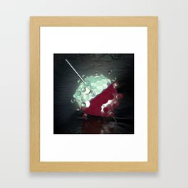 #Clear #Injection - 20160102 Framed Art Print