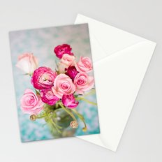 Bunches of Pink II Stationery Cards