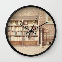 Dollar Books Wall Clock