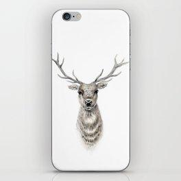 Proud Stag - Reindeer - Deer iPhone Skin