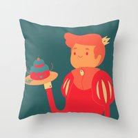 baking Throw Pillows featuring Baking by nico_lle