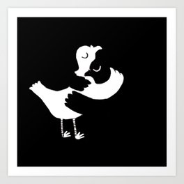 French Colombes Art Print
