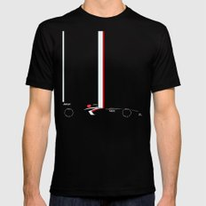 C32 LARGE Mens Fitted Tee Black
