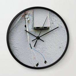 At Loose Ends Wall Clock