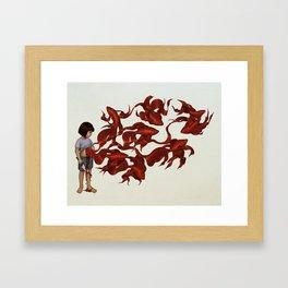 Redfish Framed Art Print