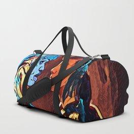 Joi And Rachel - double Duffle Bag