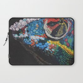 smug chameleon Laptop Sleeve