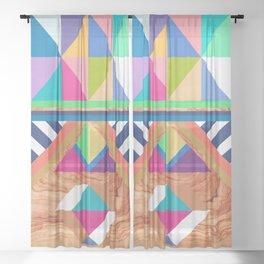 WOODY II Sheer Curtain