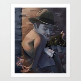 Al Capone, The Bad. Art Print