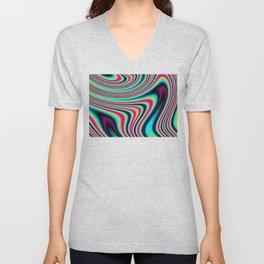 Colorful stripes Unisex V-Neck