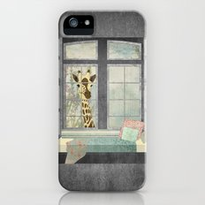 Bay Window Giraffe iPhone (5, 5s) Slim Case