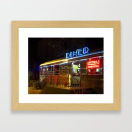 Diner Love Framed Art Print