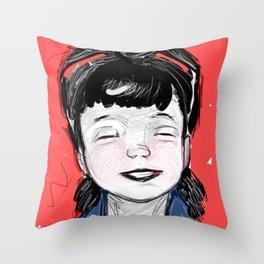 Pin Up Hapiness Throw Pillow