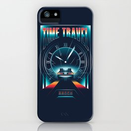Time Travel iPhone Case