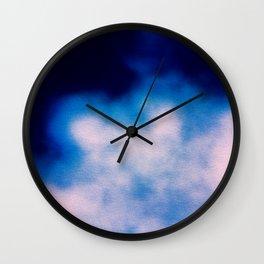 BLUR / smoke Wall Clock