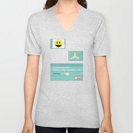 Emoji Unisex V-Neck