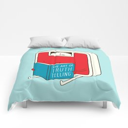 The art of Truth Telling Comforters