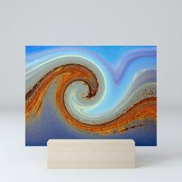 Wave of Birds and Wetlands Mini Art Print