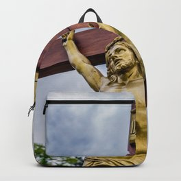 Crucifixion of Jesus Backpack