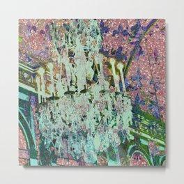 Versailles Swing Metal Print