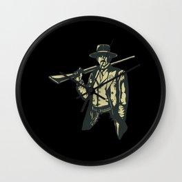 Sherriff Gun Slinger Wall Clock