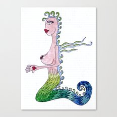 THE MERMAID Canvas Print