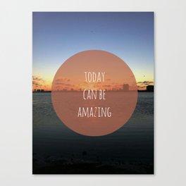 Amazing Day Canvas Print