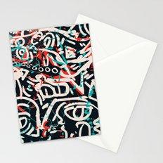 Street Art Pattern Graffiti Post Stationery Cards