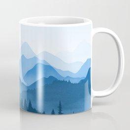 Classic Blue Mountains Coffee Mug