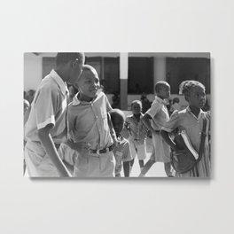 Hide away / Pignon, Haiti Metal Print