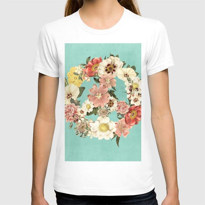 Botanica Peace sign T-shirt