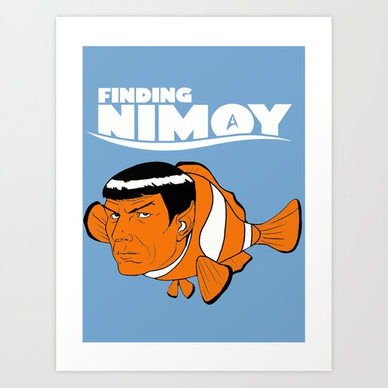 Finding Nimoy Art Print