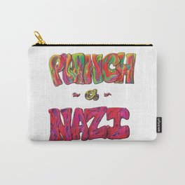 PunchANazi - This is Not Typography Carry-All Pouch