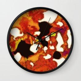 Rockburning Wall Clock