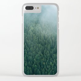 Stay Woke - Landscape Photography Clear iPhone Case