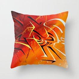 Light n' shad Throw Pillow