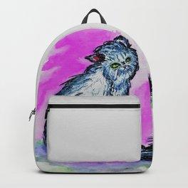 Persian cat sketch Backpack
