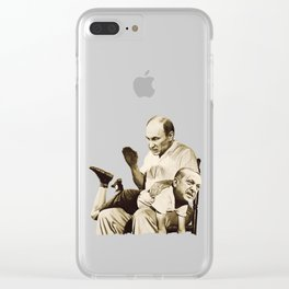 Putin spanking Erdogan Clear iPhone Case