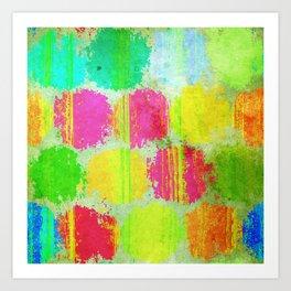 Colorful Dots Art Print