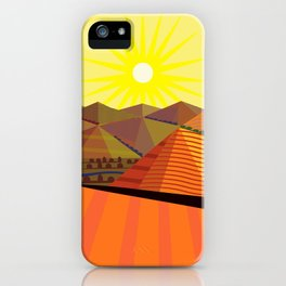 Valle de Guadelupe Eye into a Dream iPhone Case