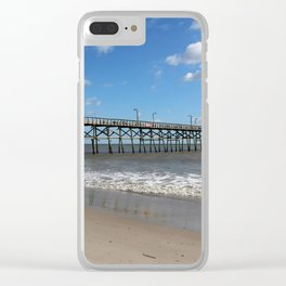 A Long Pier Clear iPhone Case