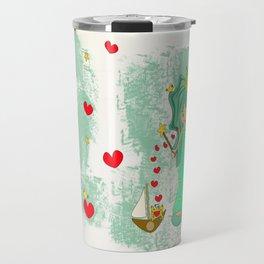 green princess Travel Mug