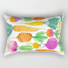Root Veggies Rectangular Pillow